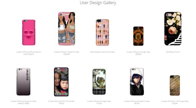 Design Gallery Shortcode